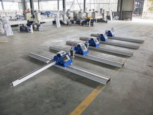 Qalın metal 6 - 150mm kəsmə üçün 180W Portativ CNC Plazma kəsmə maşını