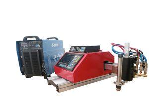 Alüminium paslanmayan polad üçün avtomatik portativ CNC plazma kəsmə maşını