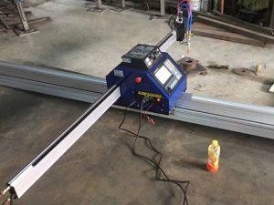 Çin ucuz 15002500mm metal portativ CNC plazma kəsmə maşını CE ilə
