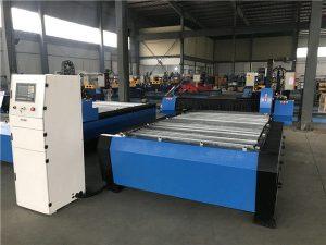 Böyük 20006000mm CNC Metal təbəqə boru plazma kəsmə qazma maşını