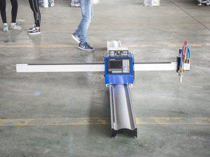 Yeni texnologiya portativ tipli cnc plazma kəsmə maşını qiyməti kiçik biznes istehsal maşınları
