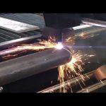 satış cnc plazma kəsmə maşını fırlanan, metal boru üçün plazma kəsici